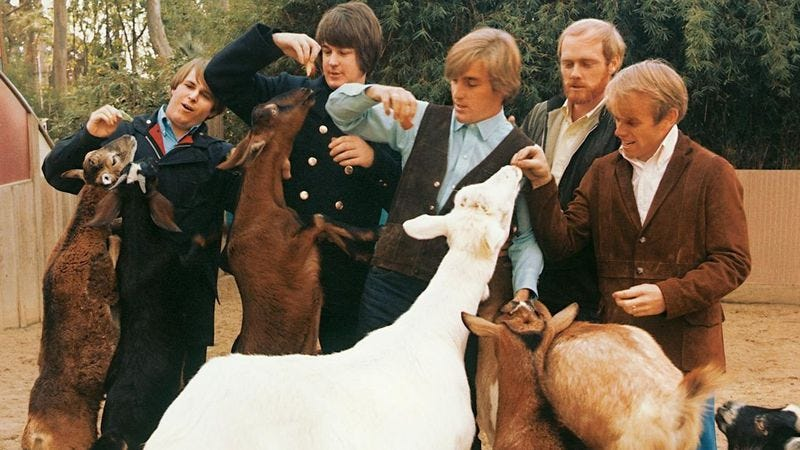 Illustration for article titled At 50, Pet Sounds remains The Beach Boys' most puzzling, influential album