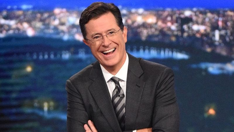 Illustration for article titled Stephen Colbert announces all-star lineup for his post-Super Bowl special