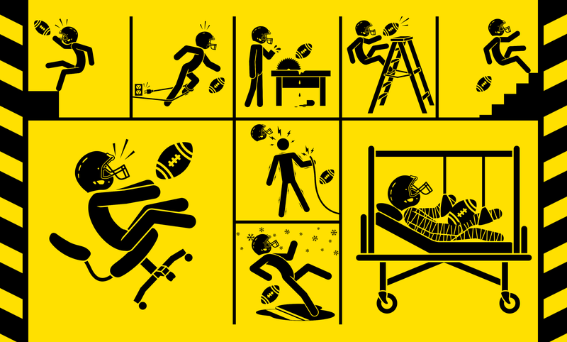Illustration for article titled What If The NFL Were Regulated By OSHA?