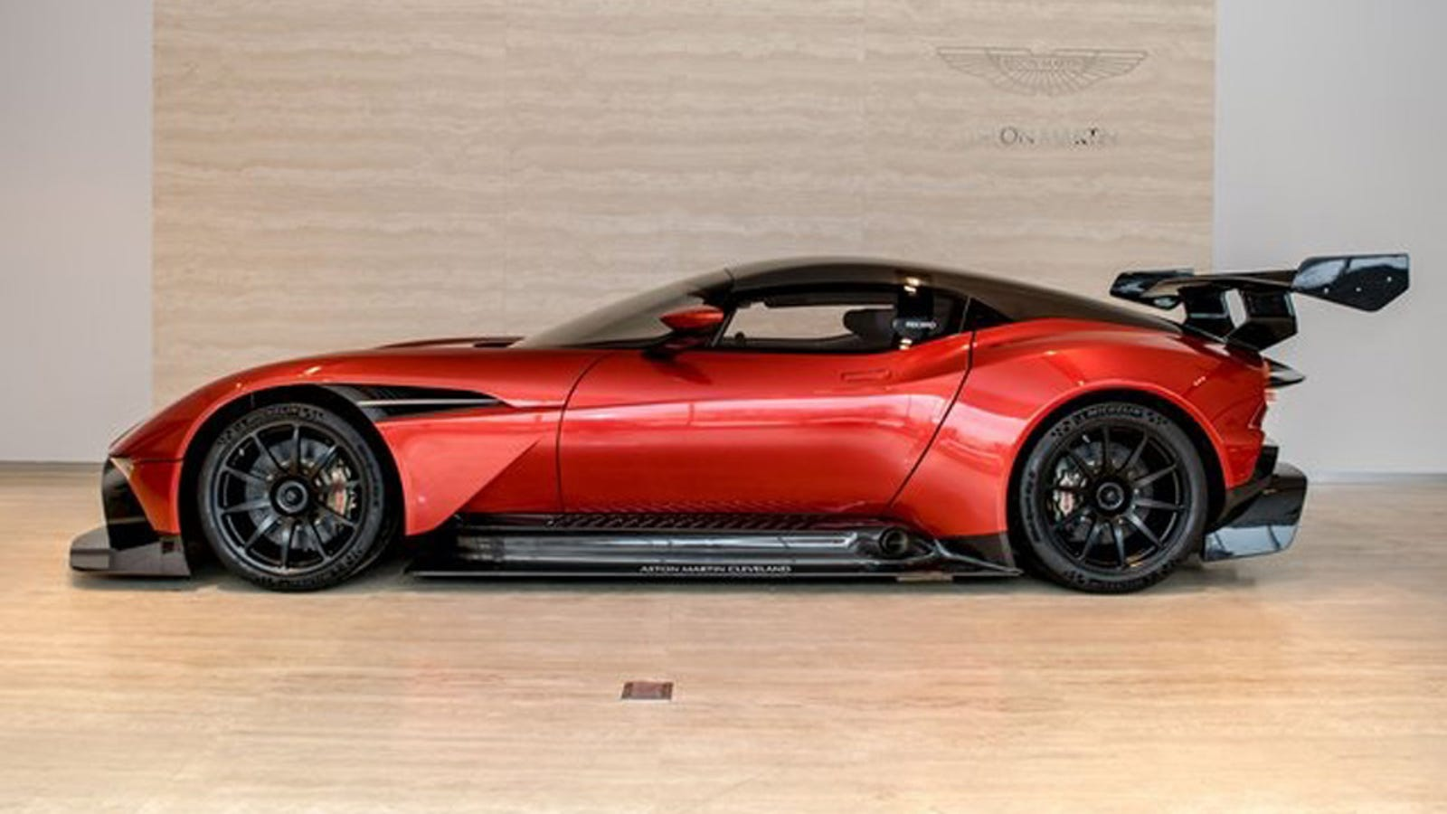 the first aston martin vulcan in america is still for sale at just 3 4 million. Black Bedroom Furniture Sets. Home Design Ideas