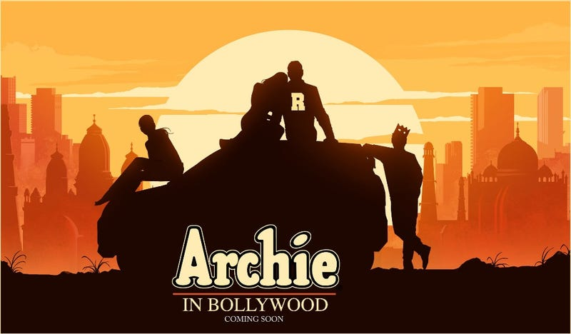 A teaser image for Archie in Bollywood.
