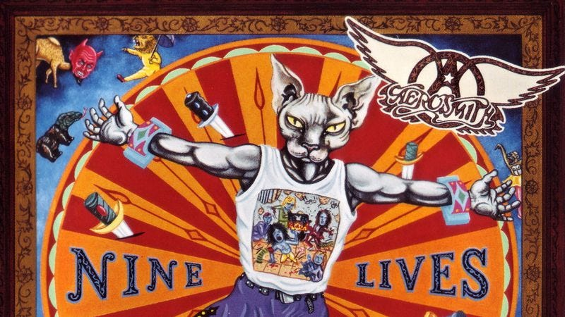 Illustration for article titled With Nine Lives, Aerosmith managed one last gasp of greatness