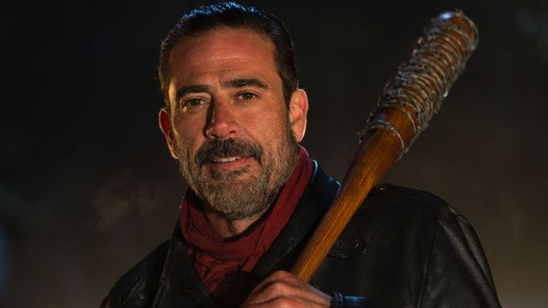 Negan with Lucille (Photo: AMC)