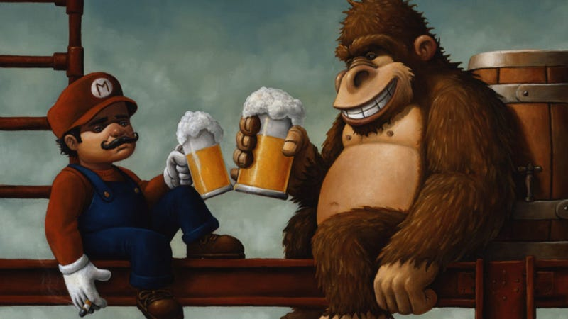 Illustration for article titled Your Favorite Video Game Character Is Definitely An Alcoholic, So What Would They Drink?