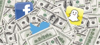 Illustration for article titled Twitter, Facebook, and Snapchat Are Turning Into Storefronts
