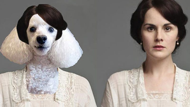 Illustration for article titled Hilarity Ensues When Dogs Are Cast as Downton Abbey Characters