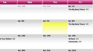 Episode Calendar.Episode Calendar Tracks Your Favorite Tv Shows So You Don T Have To