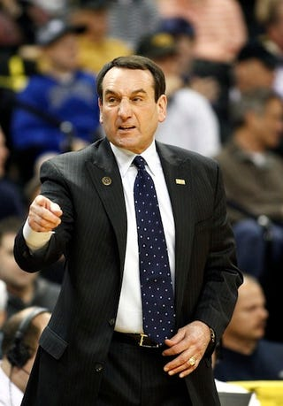 Illustration for article titled Mike Krzyzewski Says The U.S. Olympic Basketball Team Doesn't Make Roster Cuts When It Makes Roster Cuts