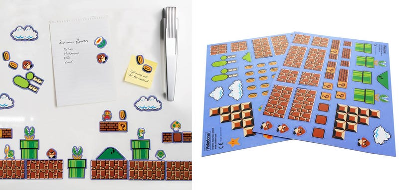 Illustration for article titled Mario Magnets Turn Your Fridge Into Mario Maker