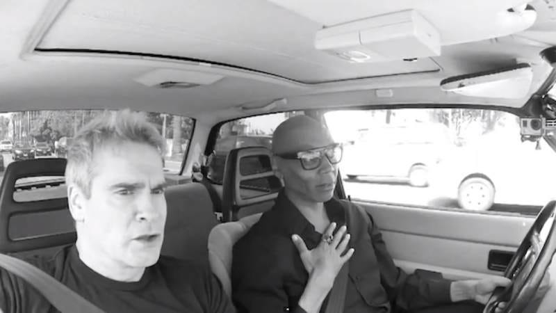 Henry Rollins joins RuPaul for a car ride.