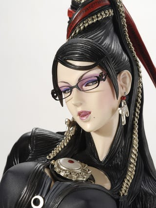Illustration for article titled $500 Bayonetta Figure, Now In Living Colour