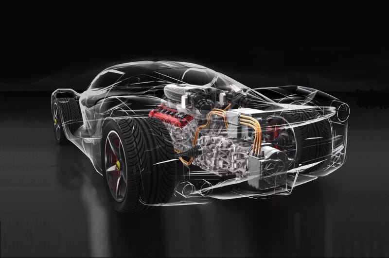 The LaFerrari's Continuously Variable Intake Runner System Is A Beautiful Bit Of Engineering