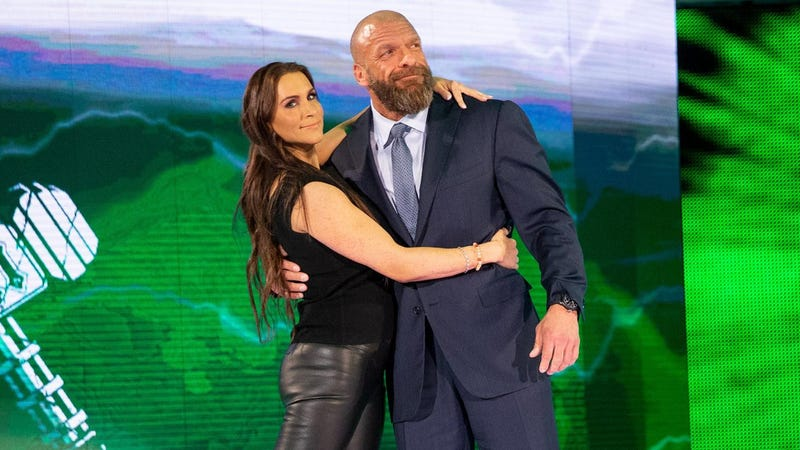 Two people who definitely stand to benefit from whatever WWE is doing.