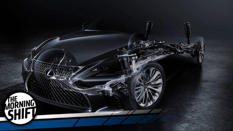 Illustration for article titled A New Lexus LS Will Take On The Toughest Sedan Market Ever