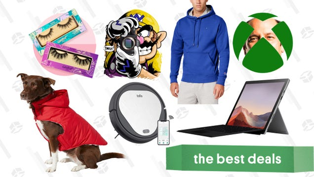 Friday s Best Deals: Xbox Games and Gift Cards, Surface Pro 7, Champion Hoodies, Ulta Lash Products, Sony a7 III Camera, Trifo Robot Vacuum, Oculus Quest, and More