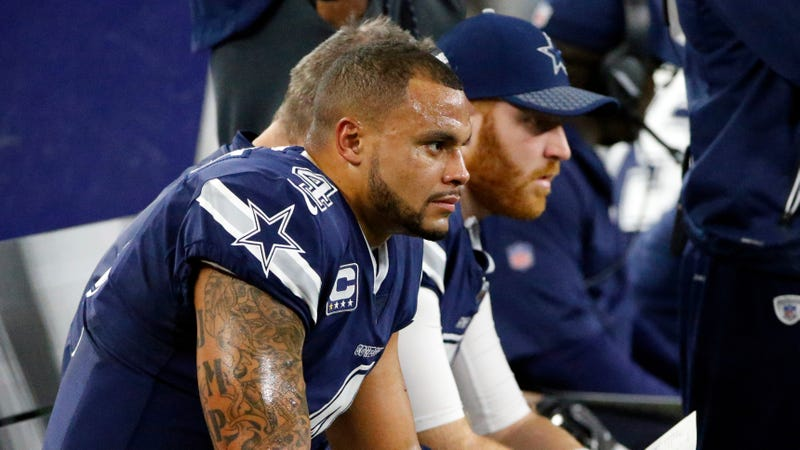 Dak Prescott: Dallas Cowboys' offensive 'funk' not fun