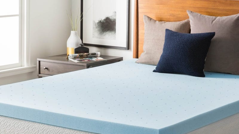Lucid 3-inch Mattress Topper, Twin - California King | $56 - $97 | Amazon