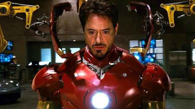 The Original Iron Man Suit Prop Had One Big Problem
