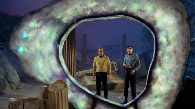"""Image: """"City on the Edge of Forever,"""" Star Trek, CBS"""