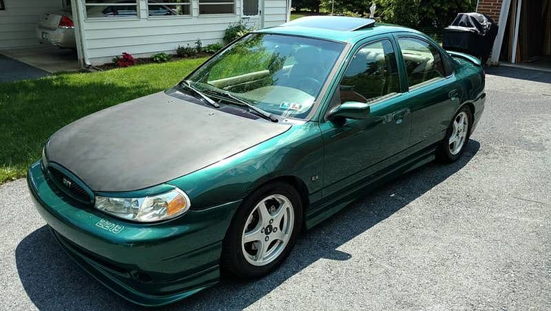 1998 ford contour svt engine