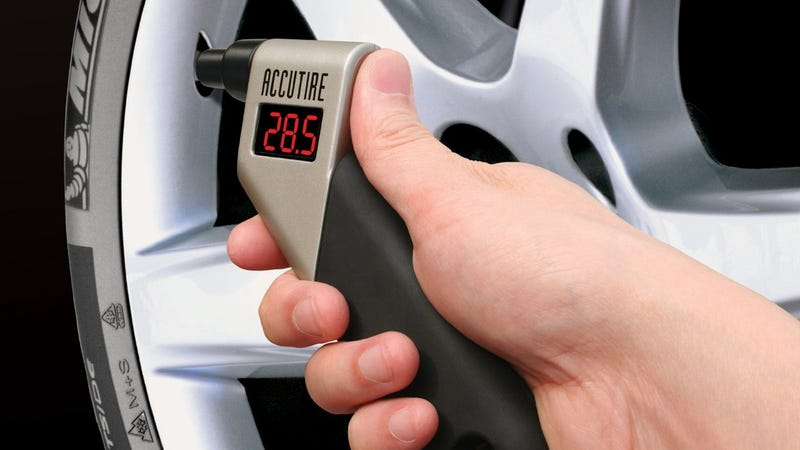 Accutire Digital Tire Gauge, $9 for Prime members. Discount shown at checkout.