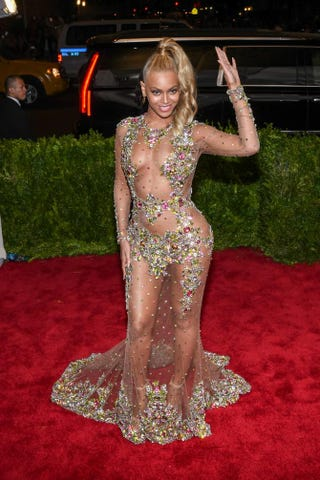 """Beyoncé at the """"China: Through The Looking Glass"""" Costume Institute Benefit Gala at the Metropolitan Museum of Art May 4, 2015, in New York CityAndrew H. Walker/Getty Images for Variety"""