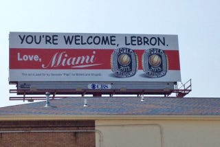 Illustration for article titled ESPN Suspends Dan Le Batard Two Days For Trolling LeBron With Billboard