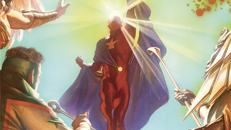 Image: Astro City #41 Variant Cover art by Alex Ross.