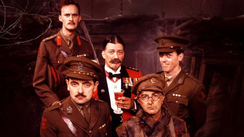 Illustration for article titled 25 years later, Blackadder's finale is still devastating