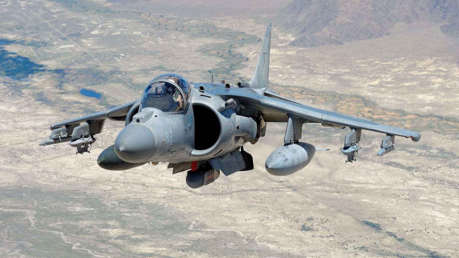 U.S. Marines Will Keep The Harrier Around Longer As Hornet Fleet Crumbles