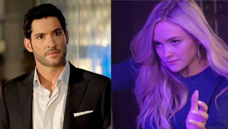 Tom Ellis is one handsome devil in Lucifer and Natalie Alyn Lind is among The Gifted (Photo: Fox; Photo: Eliza Morse/Fox)
