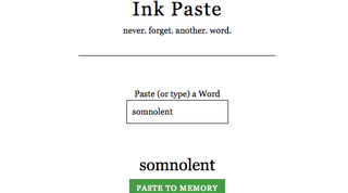 Illustration for article titled Ink Paste Helps You Learn New Vocabulary Words as You Come Across Them