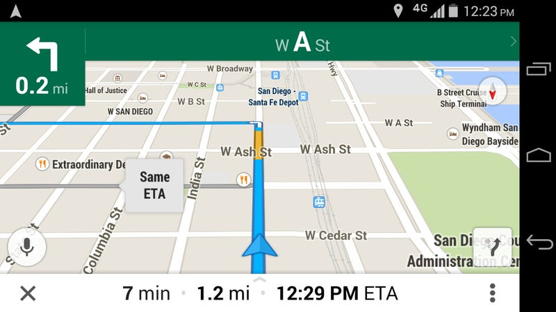 How to Toggle First Person View in Google Maps Navigation