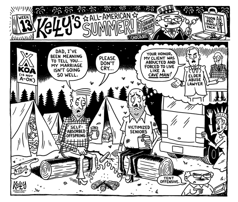 Illustration for article titled (Camp)Grounds For Divorce
