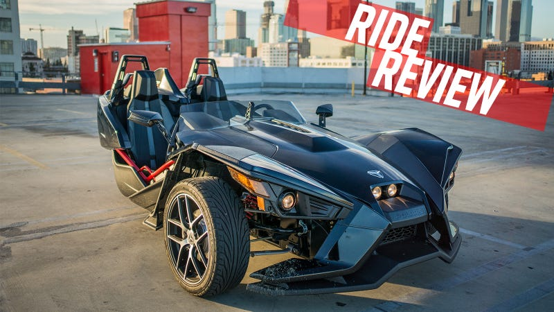 Illustration for article titled Ride Review: The 2015 Polaris Slingshot Is Dennis Rodman In Vehicle Form