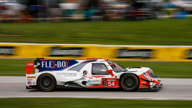 Illustration for article titled Fuel Strategy Battle Brings Intense Excitement To IMSA Race At Road America