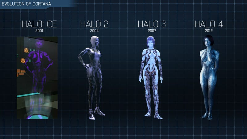 Illustration for article titled The Evolution Of Halo's Cortana