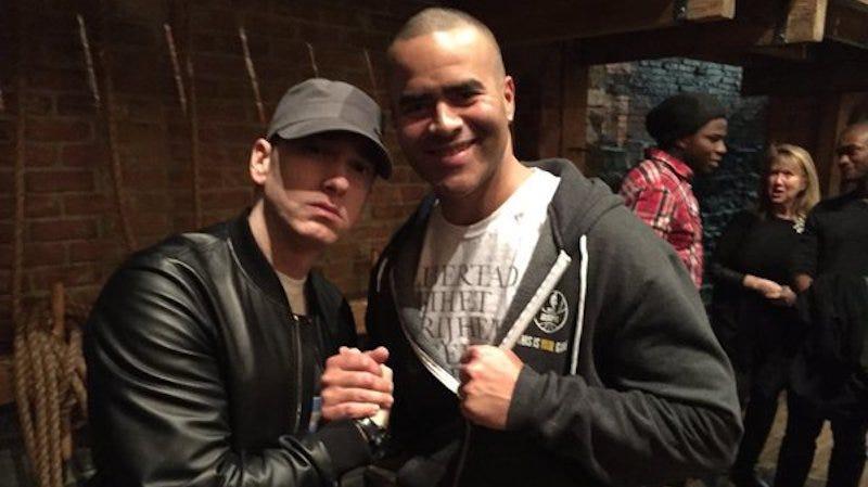 Illustration for article titled Even Eminem Has Seen Hamilton