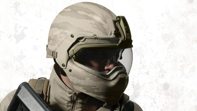 Check Out This Futuristic New Soldier Helmet Discovered 1451682335on F 35 Helmet Mounted Display System