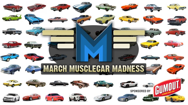 Illustration for article titled It's March Muscle Car Madness Time!