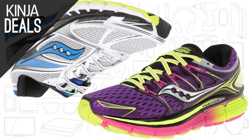 Illustration for article titled Get Off The Couch With These Discounted Saucony Running Shoes