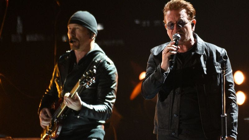 Illustration for article titled U2 will relive 1987, perform The Joshua Tree in full on tour and at Bonnaroo