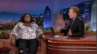 "Illustration for article titled Gabby Sidibe On Her 'N Sync Obsession: ""I Know, I Know, I'm Totally Geeky!"""