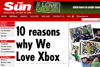 Illustration for article titled Microsoft To Pimp Xbox Using Tabloids, Bluetooth