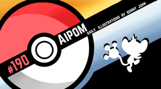 Illustration for article titled Adept Aipom!  Pokemon One a Day, Series 2!
