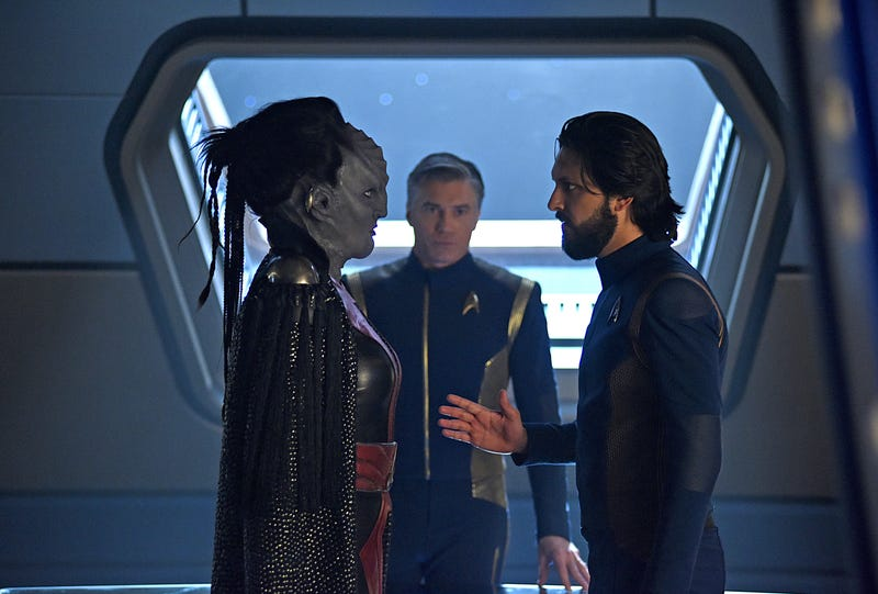 Illustration for article titled Control closes in on an exciting Star Trek: Discovery