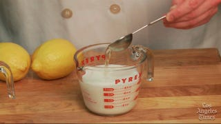 Illustration for article titled Make Your Own Buttermilk with Milk and Lemon Juice or Vinegar