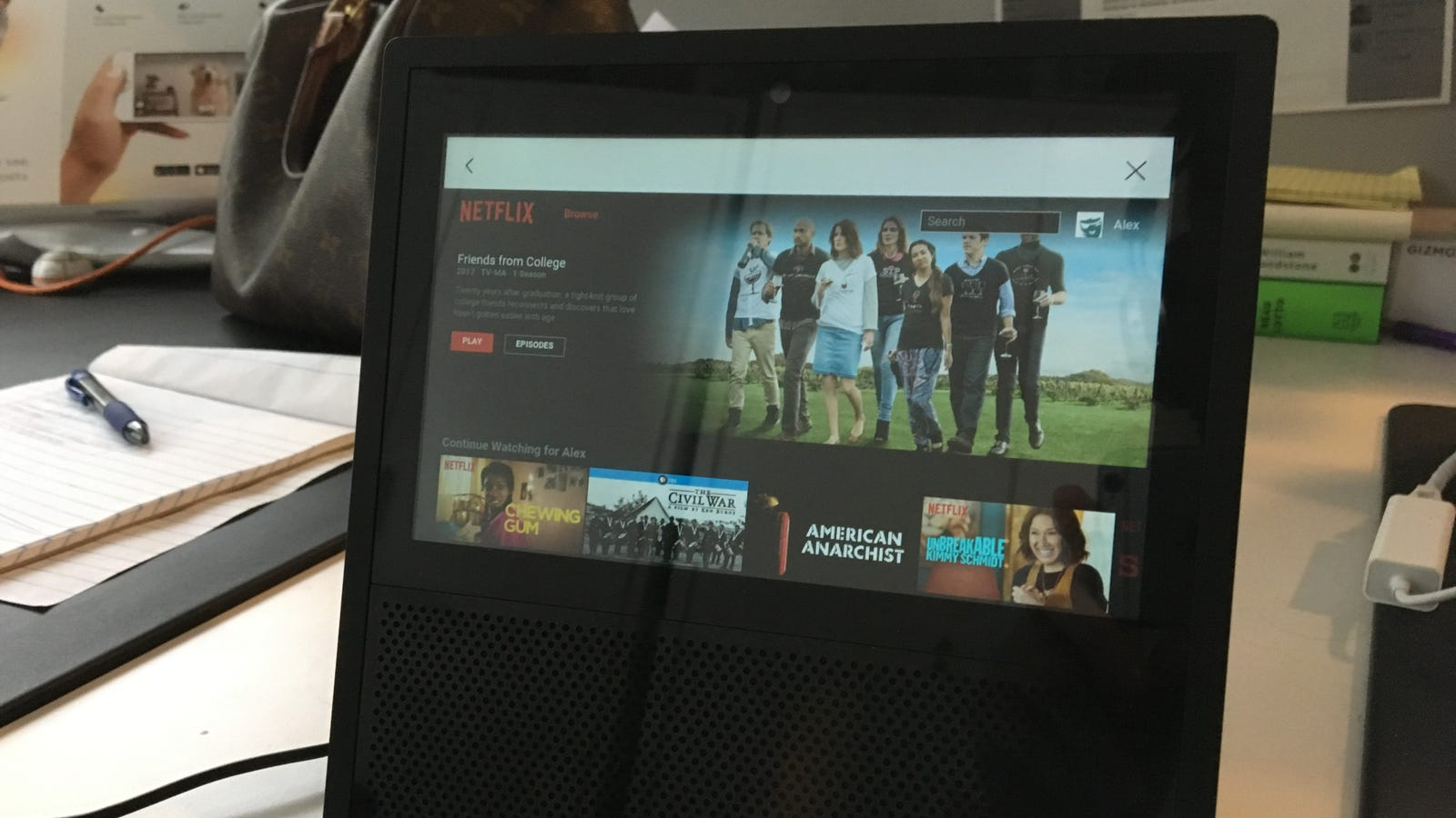 How to Access the Amazon Echo Show's Hidden Web Browser