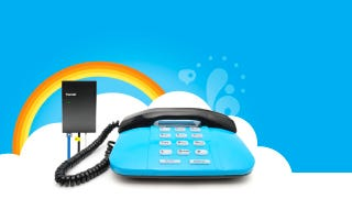 Illustration for article titled Most Popular Method to Use a Regular Phone for Internet Calls: Skype