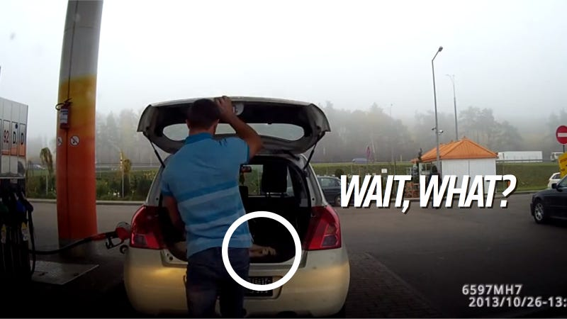 Illustration for article titled Does This Dash Cam Video Show A Body Stuffed In A Trunk? (Updated)